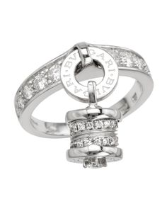 Product Name Bvlgari NIB B.Zero1 18K Gold Pave Diamond Charm Ring at  Modnique. 5f539f4d8c4af