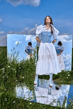 Yana  #VogueRussia #resort #springsummer2021 #Yana #VogueCollections Fashion Shoot, Look Fashion, Editorial Fashion, Fashion Design, Summer Editorial, Fashion Trends, Creative Photography, Editorial Photography, Photography Poses