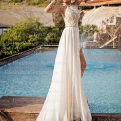 Long prom dress, backless prom dres..