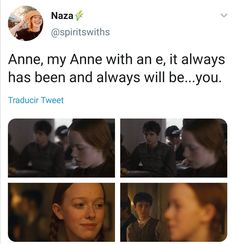 Crying Emoji, Tomorrow Is A New Day, Gilbert And Anne, Gilbert Blythe, Anne With An E, Collage Background, Anne Shirley, Cuthbert, Kindred Spirits