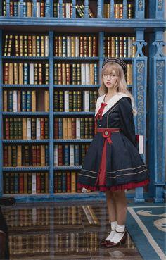 A studious lolita