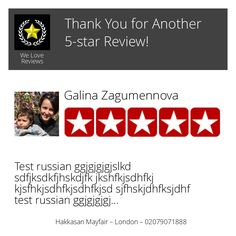 Wow! One of our customers just left on our Review Page a 5-star Review! Want to Review us too? Click or Tap here: https://hoy.cc/nf