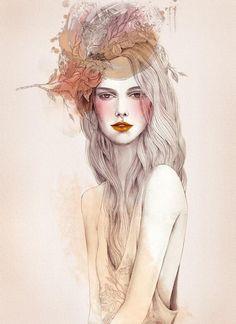 Fashion Illustrations by Wa-tinee Paleebut