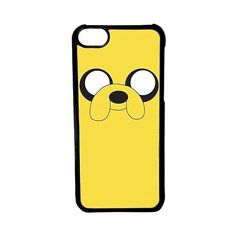 CellPowerCasesTM Jake Adventure Time Case for iPhone 5c (Black Case) (38 ILS) ❤ liked on Polyvore featuring accessories, tech accessories, phone cases, phone, cases, electronics and black