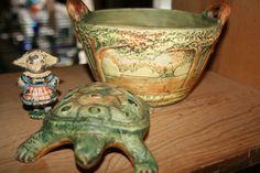 #Antique weller pottery
