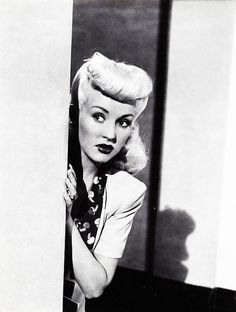 "Betty Grable In 1944's ""Pin Up Girl"""