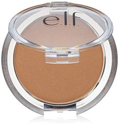 e.l.f. Sunkissed Glow Bronzer, Sun Kissed, 0.18 Ounce. Contour and highlight the skin for a gorgeous glow. Infused with Vitamin E to help nourish. and protect the skin while creating a naturally sunkissed look.