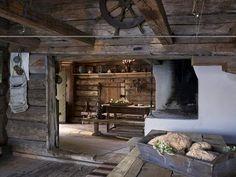 Scandinavian Rustic - any little log cabin would do actually