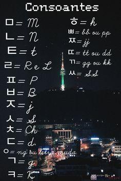 Learn Basic Korean, How To Speak Korean, Korean Words Learning, Korean Language Learning, Korean Phrases, Korean Quotes, Learn Korean Alphabet, Korean Letters, Learn Hangul