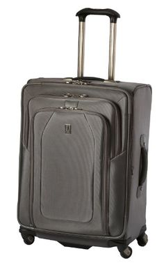 484a91c316a Travelpro Luggage Crew 9 25-Inch Expandable Suiter Spinner Bag, Titanium,  One Size · Travel ...