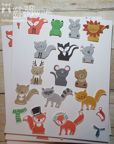 Hi everyone! Today I wanted to share some cards I made with the Foxy Friends bundle from Stampin' Up! I am just loving all the cute anima...