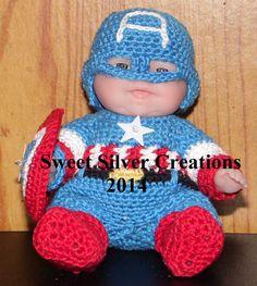 Crochet Pattern - 5.5 inch Berenguer/Lots to love/Itsy Bitsy Baby - Baby America