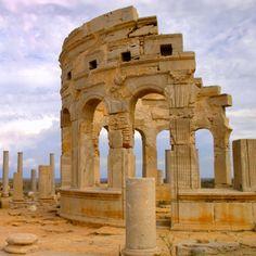 "Libya Tripoli ""Leptis Magna"" Roman City."