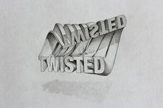 다음 @Behance 프로젝트 확인: \u201c3D Typography\u201d https://www.behance.net/gallery/11541583/3D-Typography