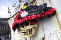 Inauguración: Gran Ofrenda que rinde tributo a José Guadalupe Posada. Foto: Antonio Nava / Secretaría de Cultura del GDF.