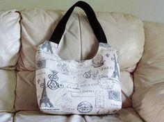 BEAUCATCHER tote bag shoulder bag plaid lining by madebyHULDA,
