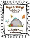 Bugs and Things ~ Preschool and Pre-K Jumbo Unit product from Preschool-Discoveries on TeachersNotebook.com