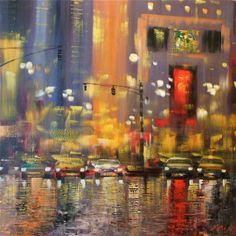 Madjid: city rain