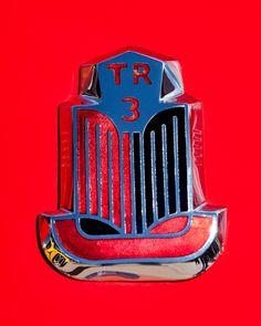 1960 Triumph Tr3 Emblem Photograph