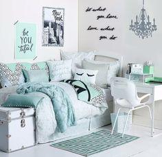 Muito azul este quarto