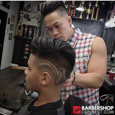 Haircut Great Haircuts, Men's Haircuts, Haircuts For Men, Hair Designs For Boys, Guy Hair, Tapered Haircut, Faded Hair, Hair Tattoos, Etchings