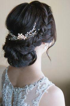 Bridal Beauty on Pinterest Bridal Hair And Makeup ...