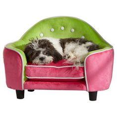 Pink Dog Sofa Bed