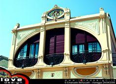 Duilio 48 Edificio Liberty sulla Passeggiata a mare di Viareggio