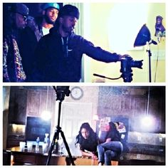 #RP @yani_camora & @dopechicksurf1n on set <=> Good talent makes my job so much easier
