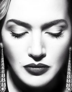 Kate Winslet photographed by Miguel Reveriego for Vogue Spain, August 2012.
