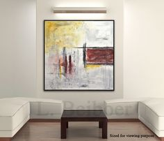 Extra Large Artwork Original Abstract Wall Art Handpainted contemporary oil modern abstract fine art design by L.Beiboer