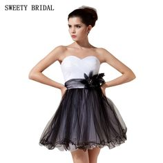 Find More Homecoming Dresses Information about Contrast Color White And Black Tulle A Line Short Mini Cheap Homecoming Dresses Fast Shipping,High Quality homecoming dresses,China cheap homecoming dresses Suppliers, Cheap homecoming dresses cheap from Tanya Bridal Store on Aliexpress.com