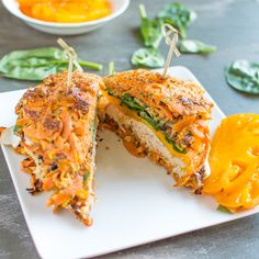 Sweet Potato Turkey Sandwich ‹ Hello Healthy