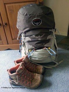 Camino de Santiago Tips Backpack Boots