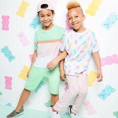 Sweet for Summer! Target Unveils New Kids' Collection Inspired By the Museum of Ice Cream Summer Fashion For Teens, Summer Fashion Outfits, Boy Fashion, Kids Outfits, New Kids, Cool Kids, Teen Crop Tops, Marvel Kids, Child Models