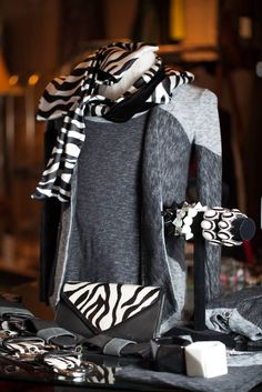 Going crazy with black and white at the shop. So many fun combinations!