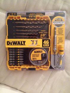 [HomeDepot] Dewalt 46-Piece Drill/Screwdriver Bit Set $6.16 http://www.lavahotdeals.com/ca/cheap/homedepot-dewalt-46-piece-drill-screwdriver-bit-set/63500