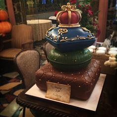 A 35th birthday cake fit for a king, at the beautiful Villa Russo banquet hall in Queens. Custom order cake by www.citycakes.com