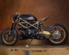 "Ducati Multistrada 1000 DS Cafe-Bobber ""L'Dùca"" - @StereoMotorcycleS #motorcycles #caferacer #motos | caferacerpasion.com"