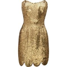 A perfect dress for every gold lover!