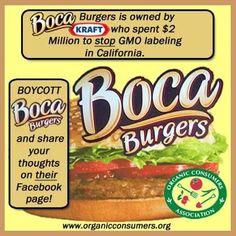 Think twice before buying food from companies they want to deny you the right to know what you're eating.