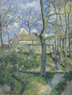 Camille Pissaro, The Path to Les Pouilleux, Pontoise