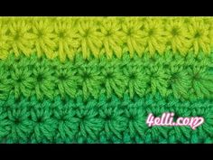 Crochet Star Stitch Tutorial (EN) - YouTube