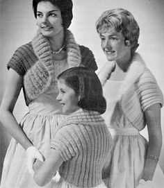 Free Vintage Knitting Patterns by Nostalgia Rules, via Flickr