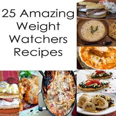 25 Amazing Weight Watchers Recipes