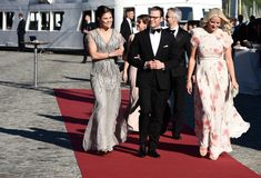 Pre-Wedding Dinner for Prince Carl Philip and Sofia Hellqvist on June 12, 2015 in Stockholm, Sweden