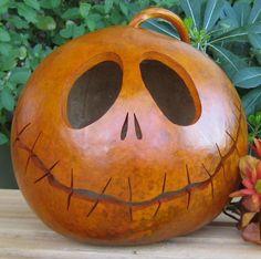 Halloween Gourd Jack-O-Lantern (Inspired by Tim Burton ...