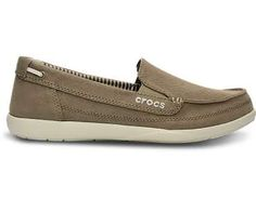 ffd80f7d213c Women s Walu Canvas Loafer · Crocs Shoes ...