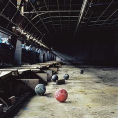 Old Bowling Alley - Abandoned Lanes