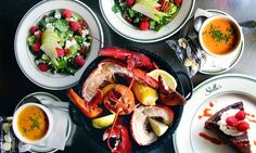 Four-Course Lobster Bake for Two with Optional Wine at Stella's Fish Cafe (Up to 50% Off)